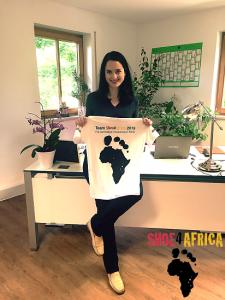 Julia Obermeier MdB Shoe4Africa