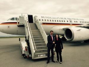 Julia Obermeier MdB gemeinsam mit Bundesentwicklungsminister Dr. Gerd Müller MdB