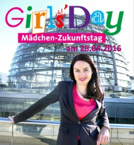 Girls'Day 2016 bei Julia Obermeier MdB